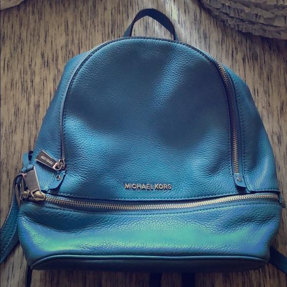 fd0e79c1e481c9 Michael Kors Blue Mini Backpack. M_5ce481b0b3e9178055dc4310
